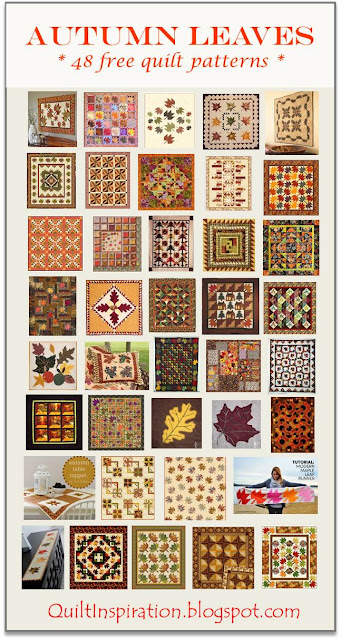 Quilt Inspiration: Free Pattern Day ! Autumn Leaves quilts : quilt inspiration free patterns - Adamdwight.com