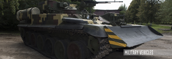 Armored Recovery Vehicle from Lviv Tank Factory Comes into Service of Ukrainian Army