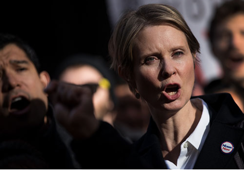 Cynthia Nixon In Hot Seat For Pot Industry As 'Reparations' Comment