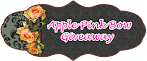 @18 july : Apple Pink Bow Giveaway