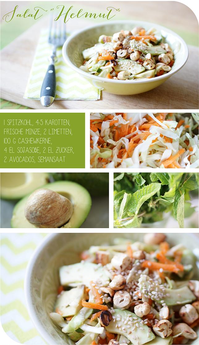 Ynas Design Blog, Kohlsalat, Salat,