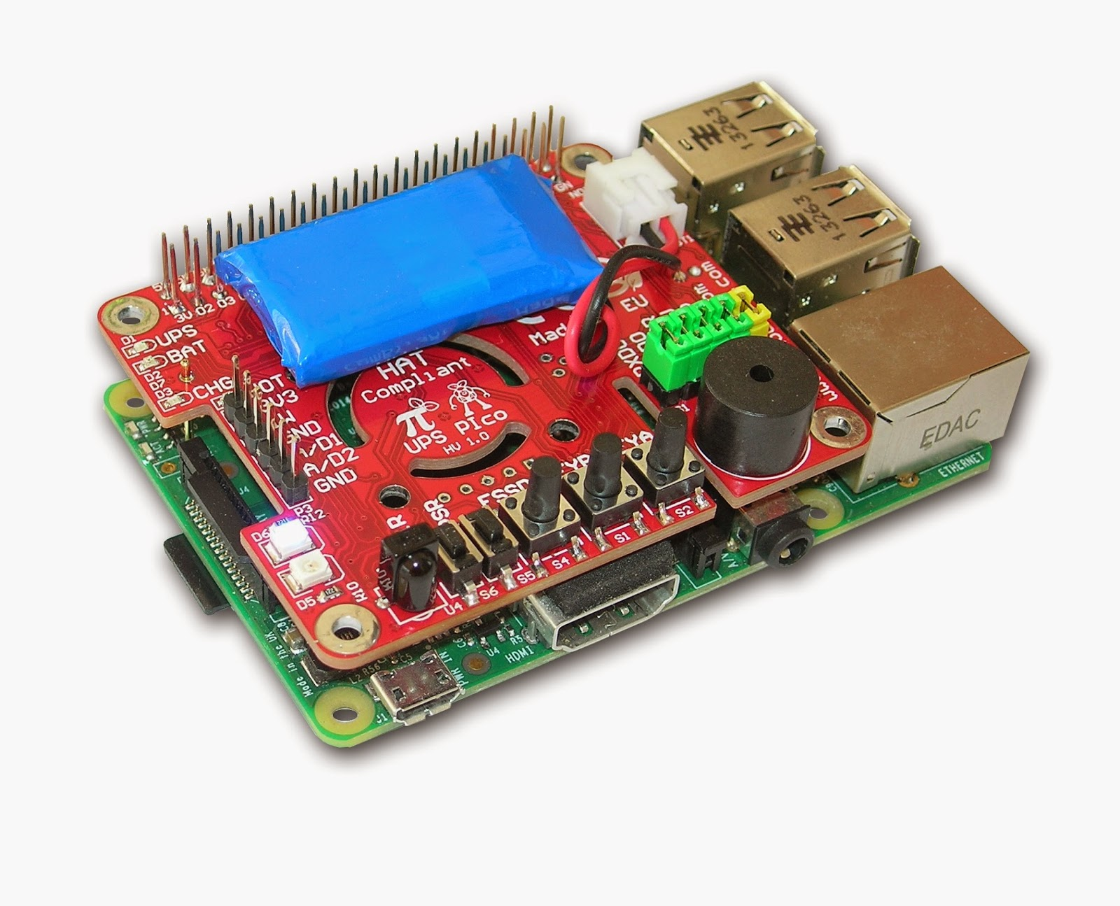 Rpiblog Ups Pico Uninterruptible Power Supply With Peripherals Basic Circuit And I2c Control Interface