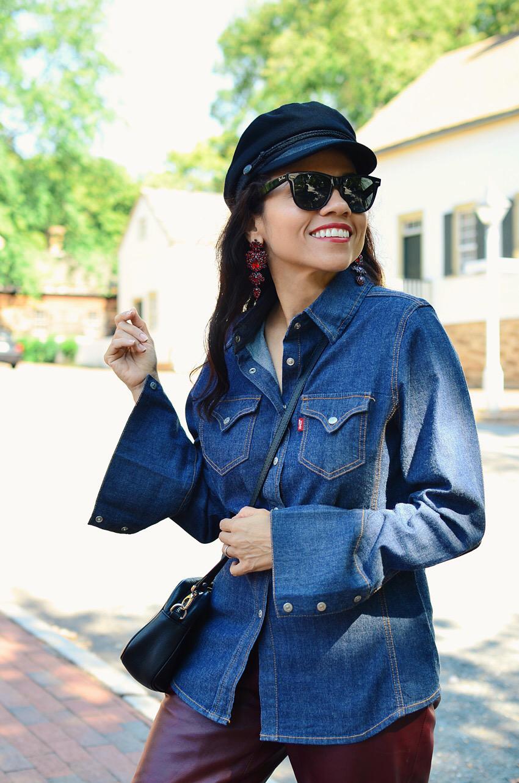 Newsboy hat street style