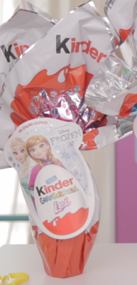 Uovo di Pasqua Kinder Principesse Disney 2017 Frozen
