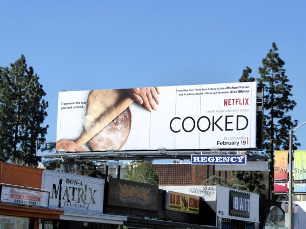 Cooked series premiere billboard