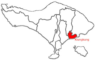 image: Klungkung Map location