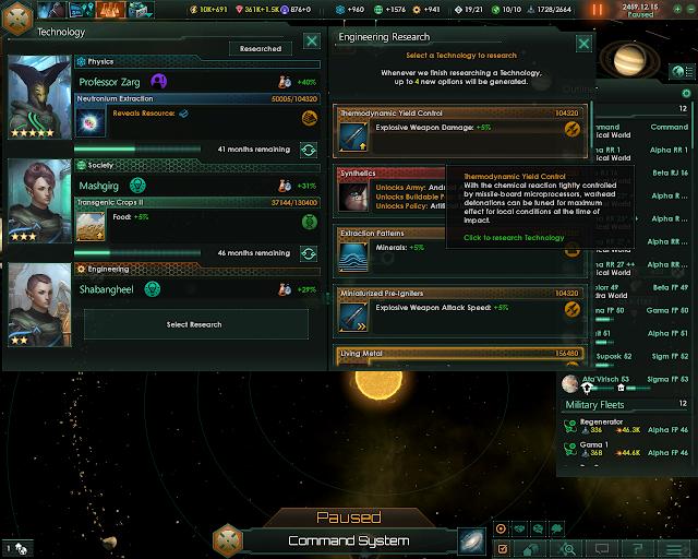 Research and Technologies   Stellaris Screenshot