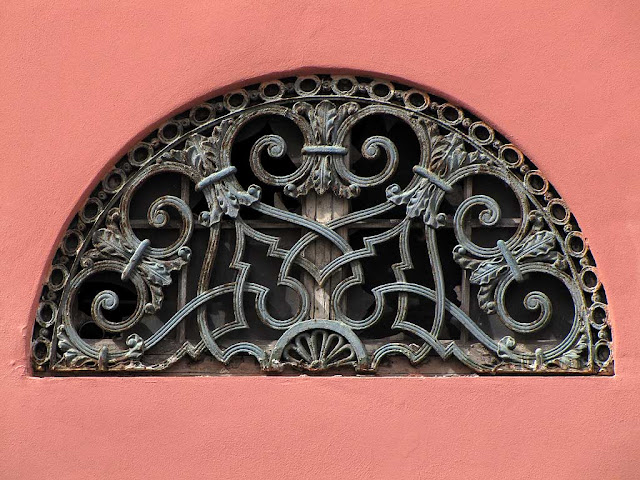 Ironwork on a window, Livorno