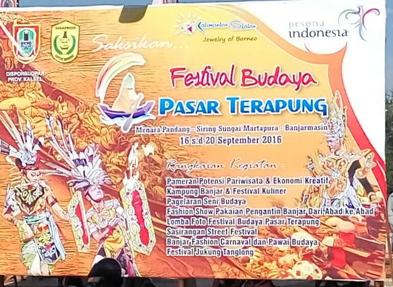 Event Banjarmasin - Festival Budaya Pasar Terapung