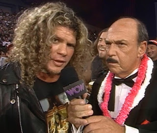 WCW Bash at the Beach 1997 - Mean Gene interviewed Raven & Stevie Richards