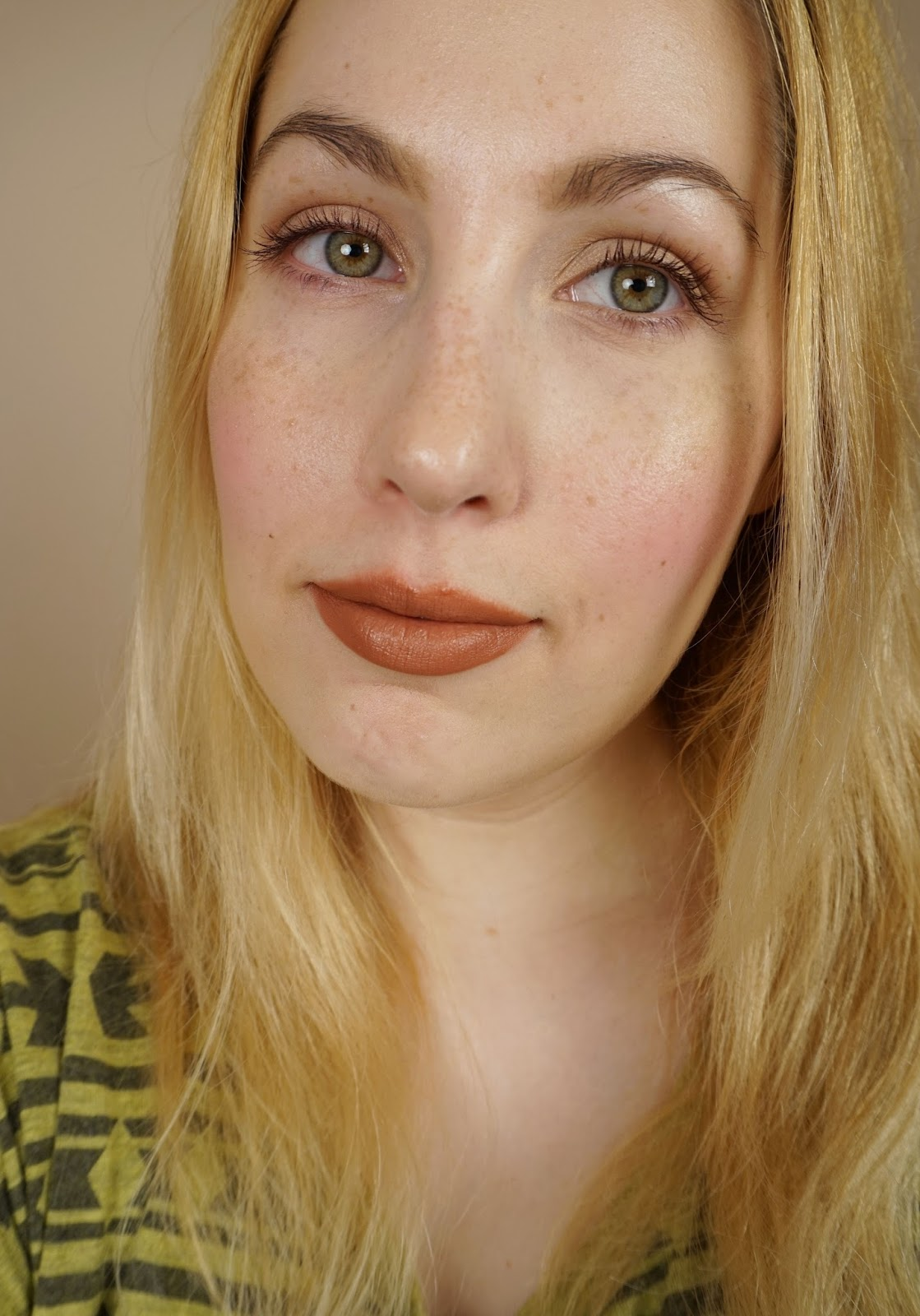 NARS Under Cover Summer 2016 Overheated Lip Cover review swatches face
