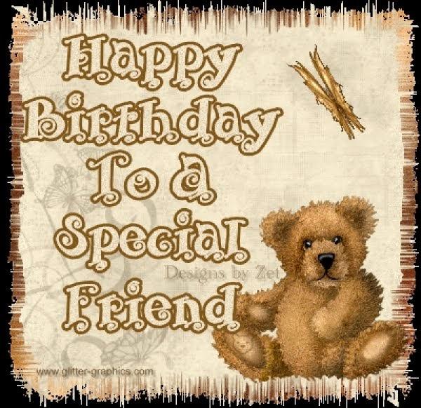 happy birthday to a special friend   kootation.blogspot.com