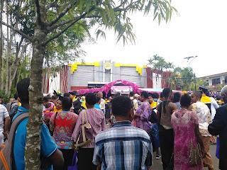 Ramai Wisuda Univ. Papua