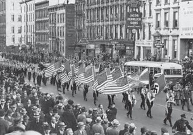 30 October 1939 worldwartwo.filminspector.com German American Bund New York City