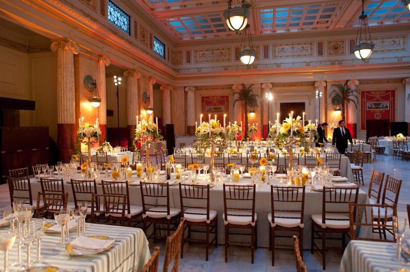 The East Hall Has Gl Coffered Ceilings That Make E Feel Lighter Perfect Room For An Indoor Event With A Semi Outdoor