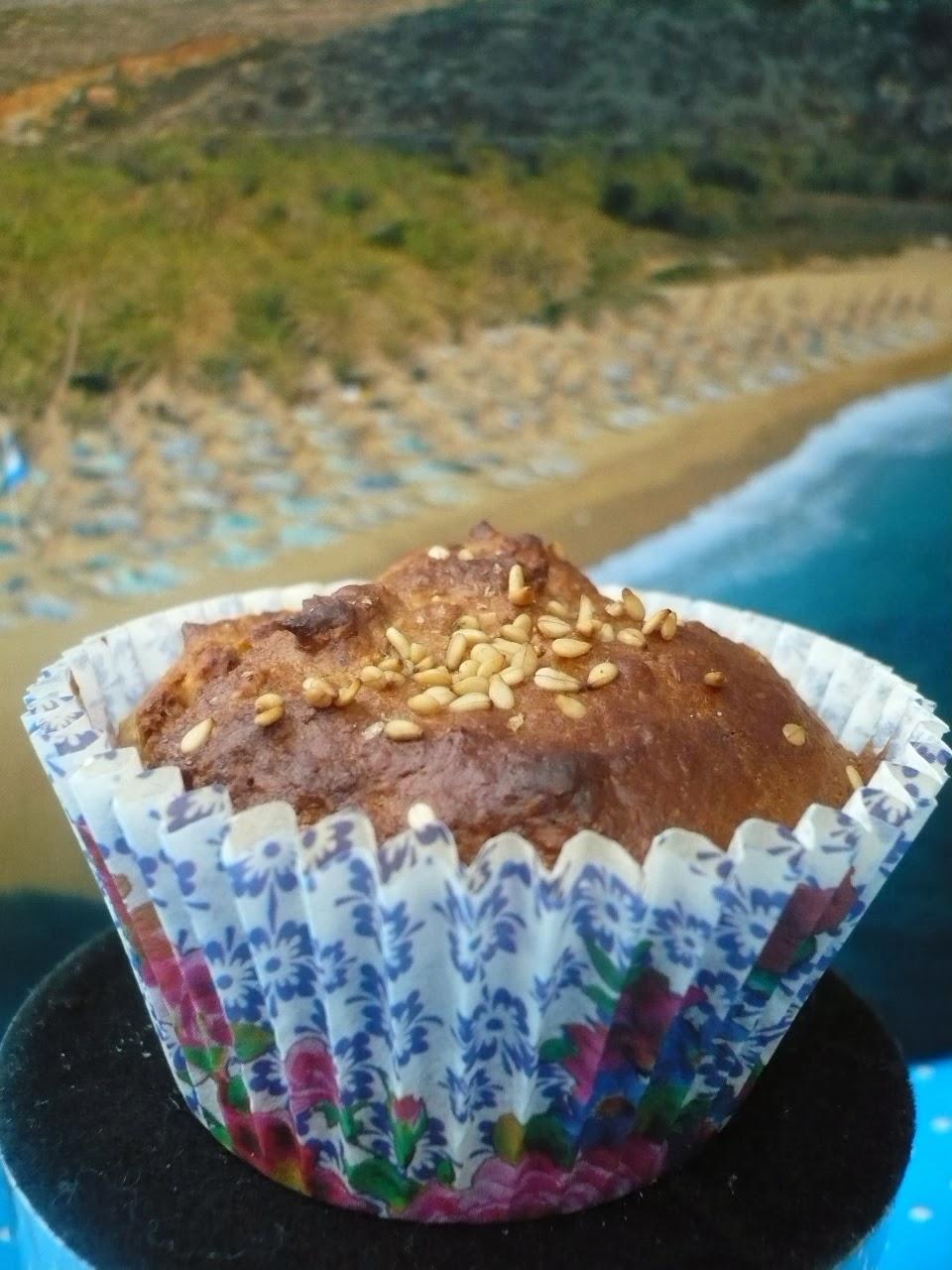 Cupcakes bij het ontbijt