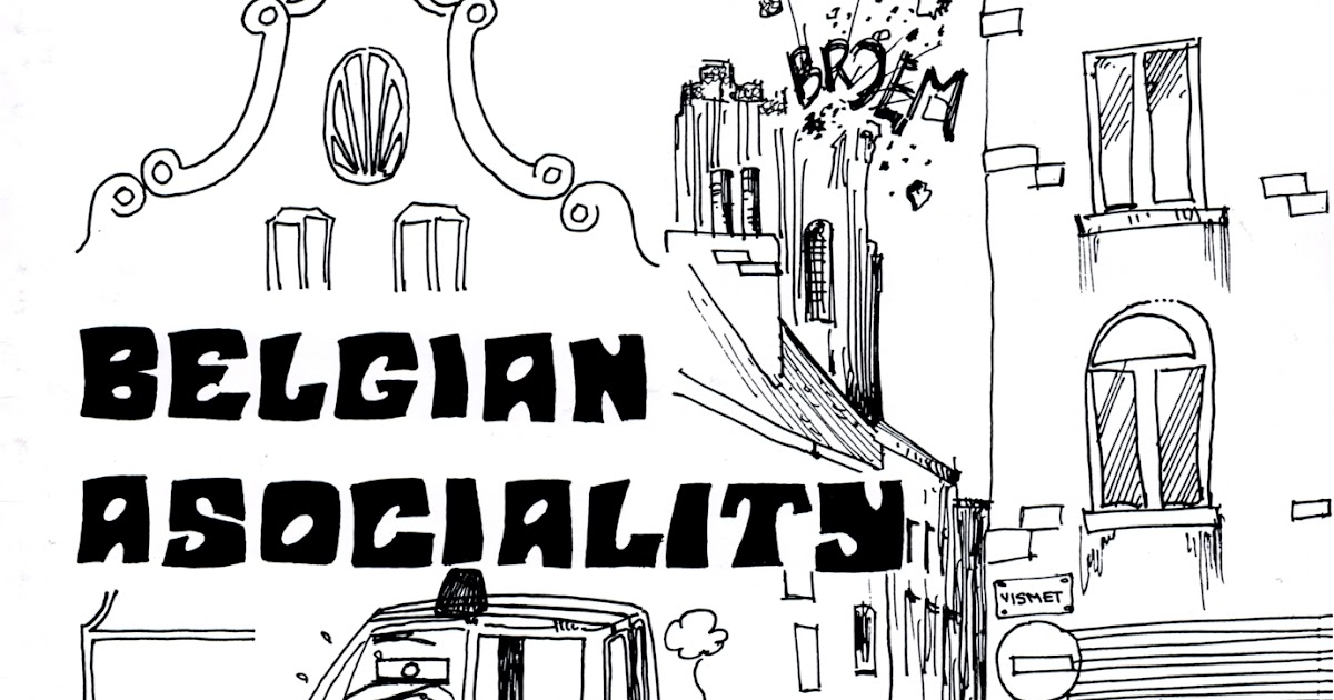 WhyDoThingsHaveToChange: BELGIAN ASOCIALITY - s/t LP 1989 Десоциализация