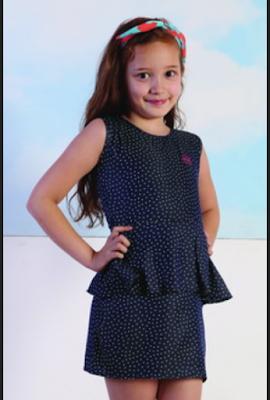 simple dress untuk anak perempuan