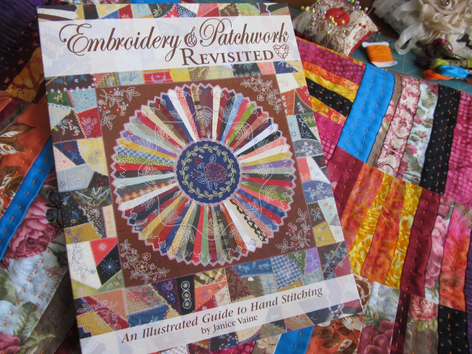 Crazy victoriana crazy for quilts 39 big stitch 39 quilting for Patchwork quilt book