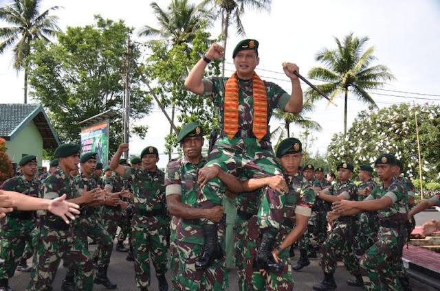 Kunker Pangdivif 2 Kostrad di Brigif Para Raider 18 Kostrad di Malang