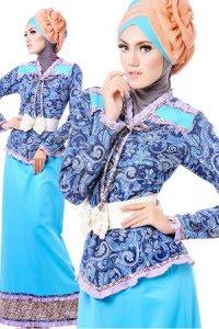 Model Gamis Batik Tanpa Kombinasi Terbaru Model Fashion Terkini