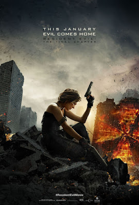 Resident Evil: The Final Chapter Movie Poster 2