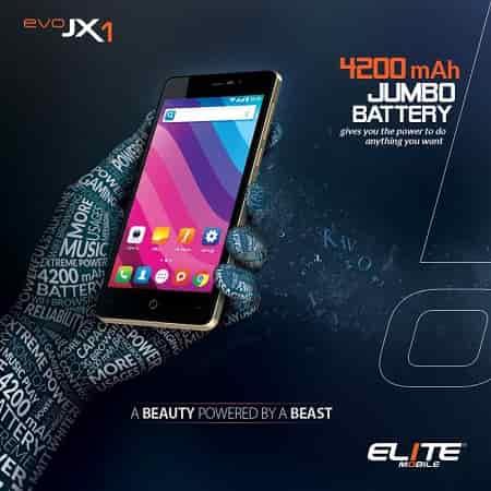 Elite EVO JX1 Smartphone