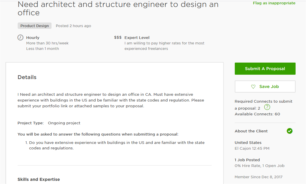 Cover Letter Sample For Engineering Design/ Architectural Design