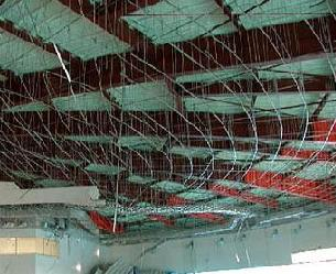 Ceiling-Piping-Partition System