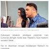 Datang ke Indonesia, Faye Malisorn Kekasih Ivan Gunawan Pakai Nama Melati