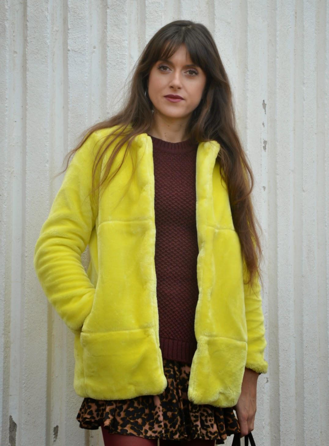 5458da78b37a6 Fashion Musings Diary  Leo Yellow Camo Burgundy and Bronzine