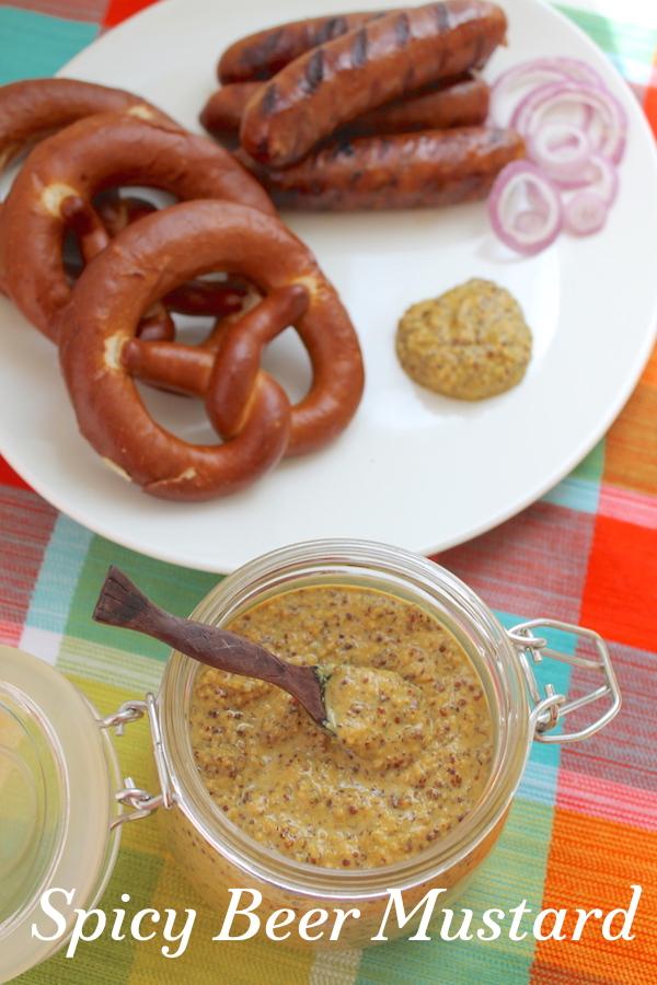 Food Lust People Love: Spicy Beer Mustard #SundaySupper