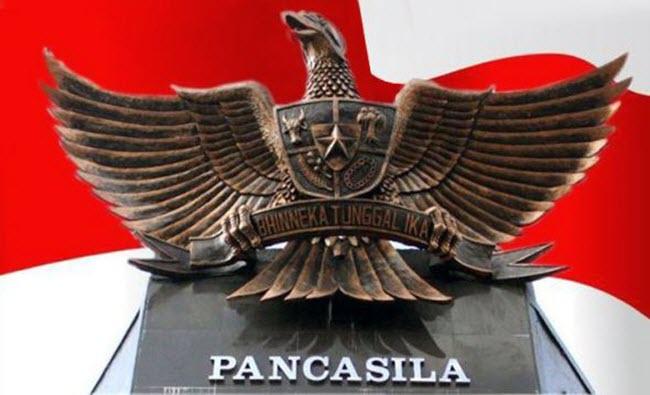 Pancasila diumpamakan sebagai satu paket lengkap yang menopang Negara Kesatuan Republik In Perilaku Mencerminkan Kesatuan Sila-sila Pancasila