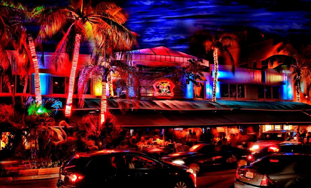 Mango's Tropical Cafe na Ocean Drive em Miami