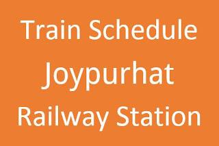 Joypurhat station train schedule