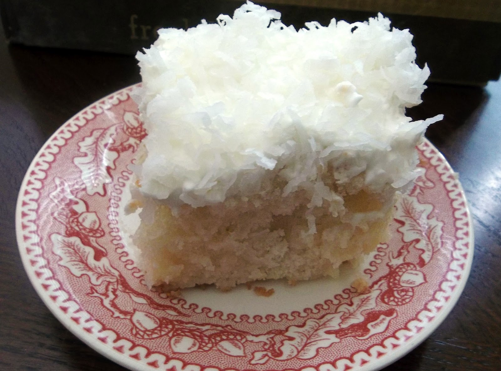 Coconut Cake With Eagle Brand Milk And Cream Of Coconut