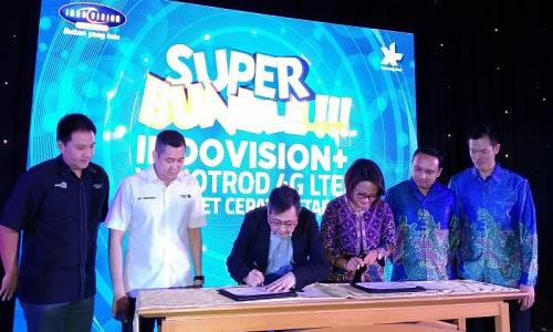 Cara daftar [aket internet Indovision dan XL.