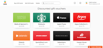 Save in October Day 12: Cut costs with gift vouchers & grab a free fiver