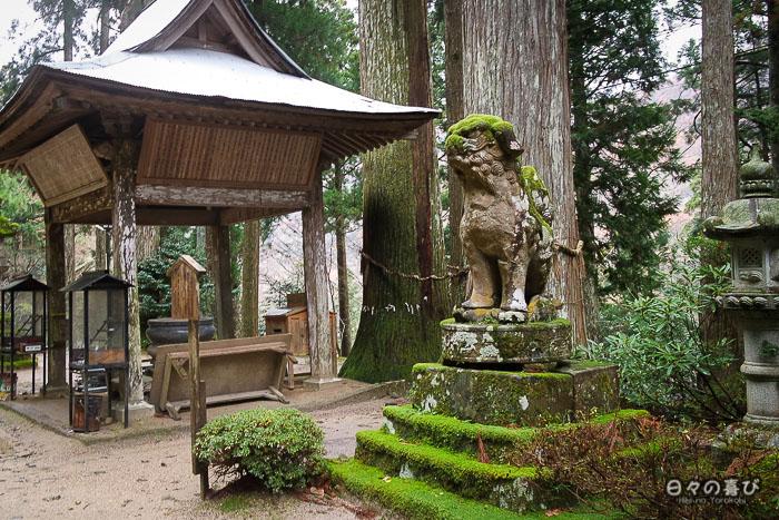 statues sanbutsu-ji