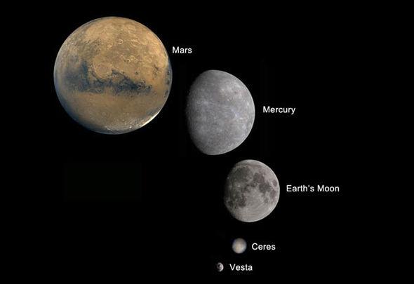 Asteroide 4 VESTA passará próximo da Terra e estará visível até 17 de Julho