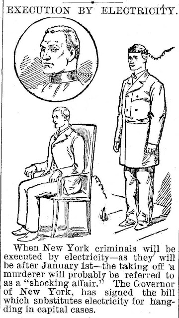 1890 electric chair illustration