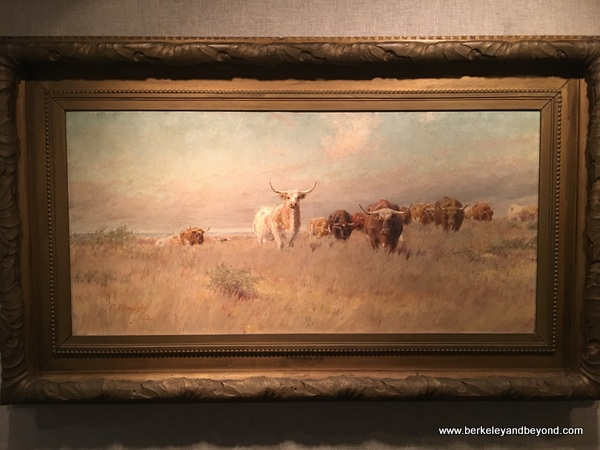 """The Approaching Herd"" by Frank Reaugh at Panhandle-Plains Historical Museum in Canyon, Texas"