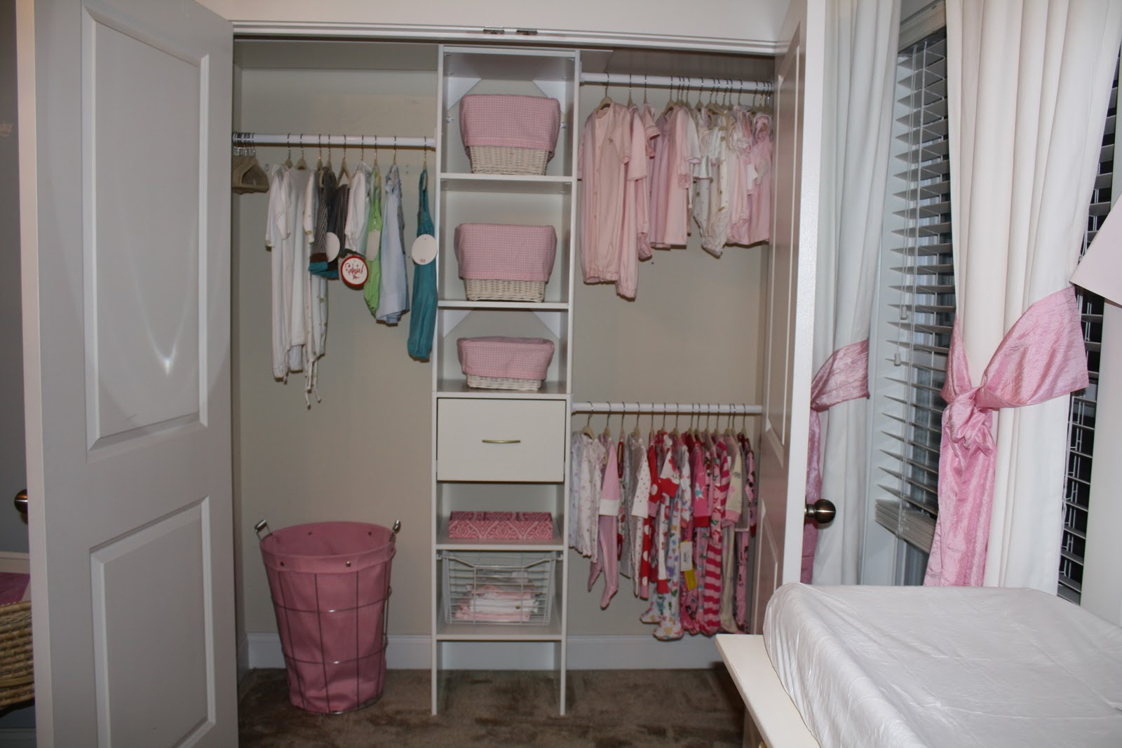 ... Little Ladies Closet Turned Out! The Pictures Really Donu0027t Do It  Justice, My Husband Rocks! Now If I Can Convince Him To Do Ours And The  Laundry Room :)