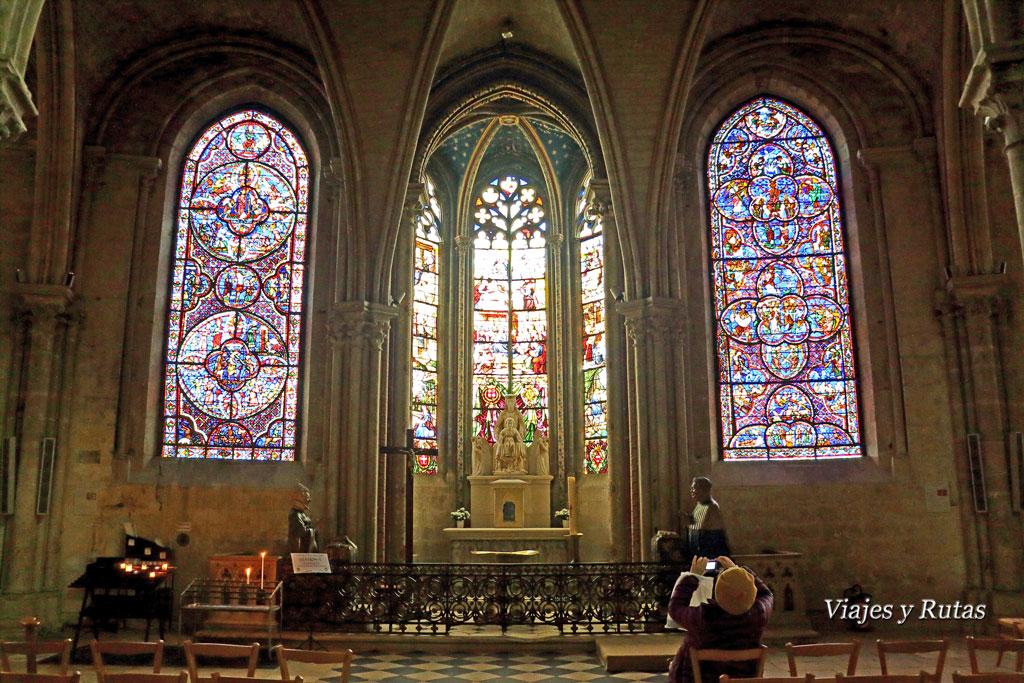 Vidrieras de la Catedral de Saint Etienne, Bourges, Francia