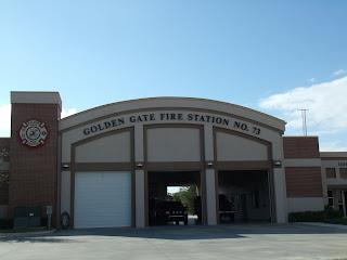 Cuartel de bomberos en Golden Gate