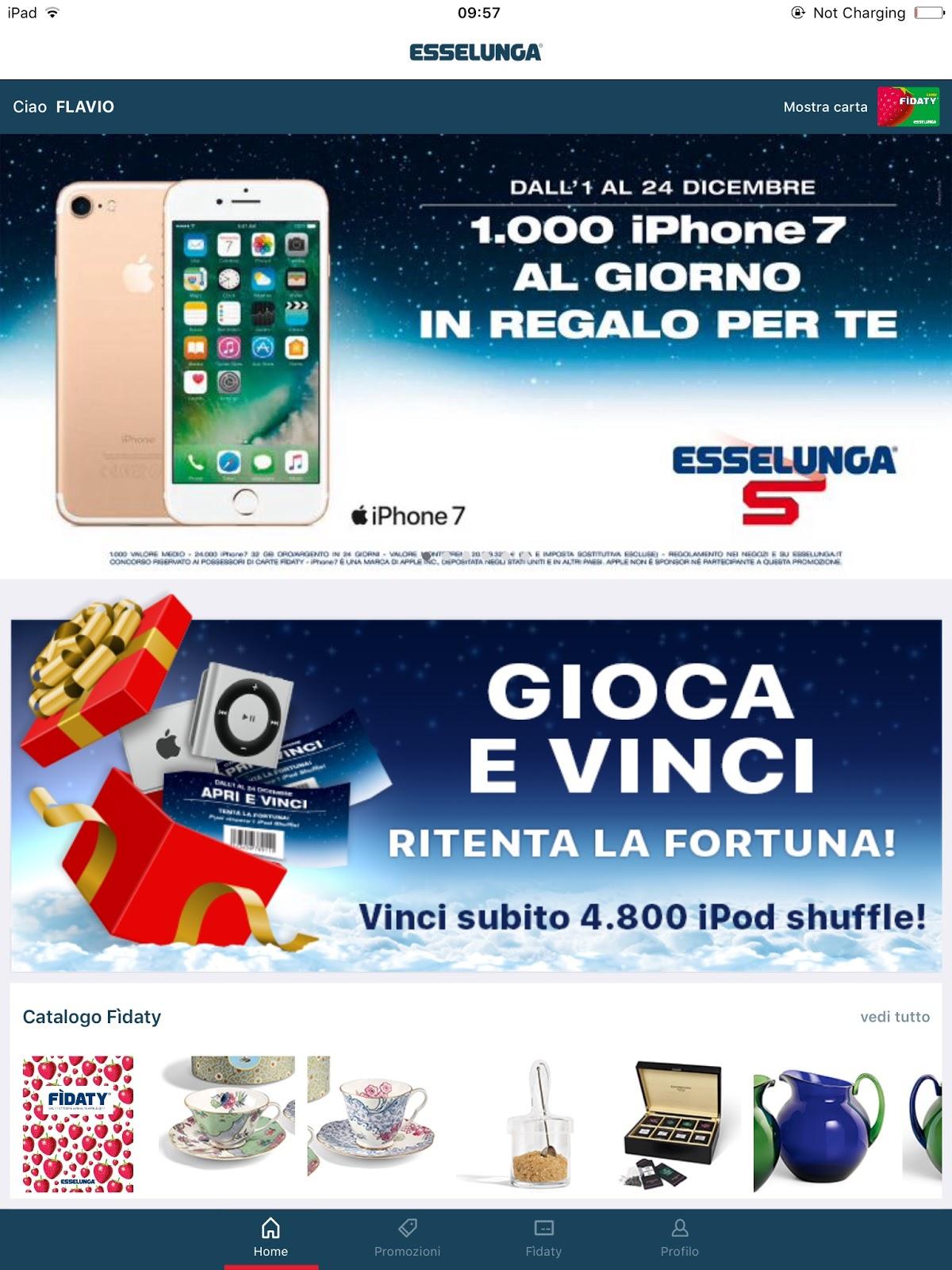 concorso iphone 7 esselunga
