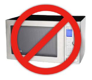 Usa el microondas y arruina tus platillos