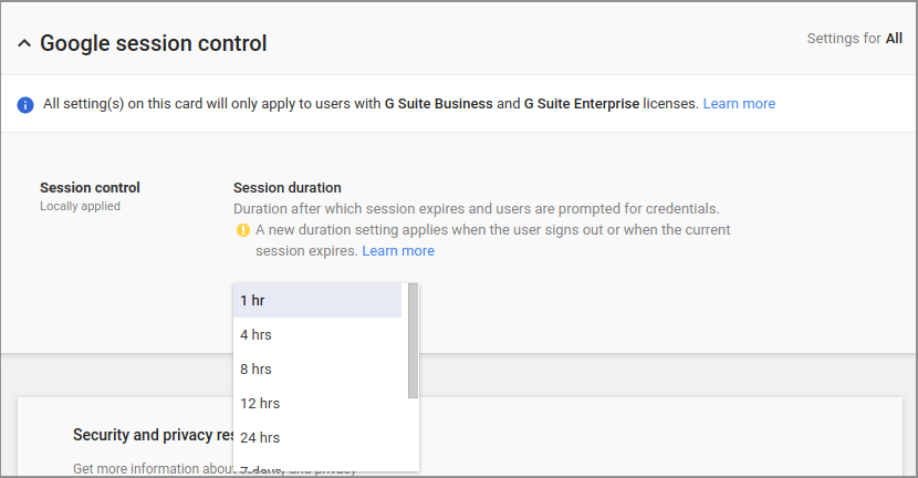Google Workspace Updates Blog Control Session Length For Google Services On The Web