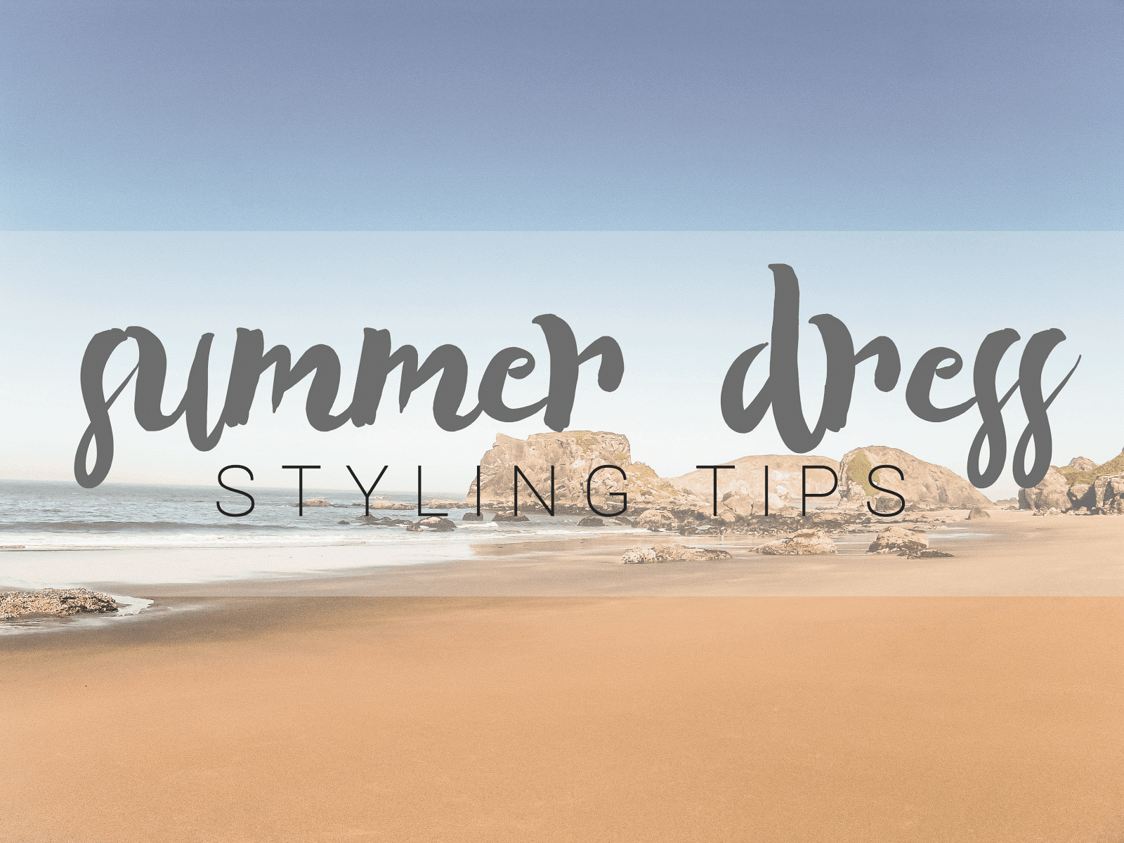 Tips for styling summer dresses uk fashion blogger