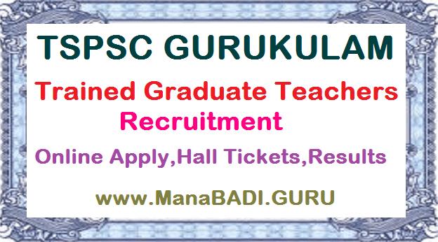 TS Residentials, TS Gurukulam, TGT Posts, TSWREIS, TREIS, MJPTBCWREIS, TTWREIS, TMREIS, Trained Graduate Teachers Recruitment, TSPSC Results, TSPSC Hall Tickets